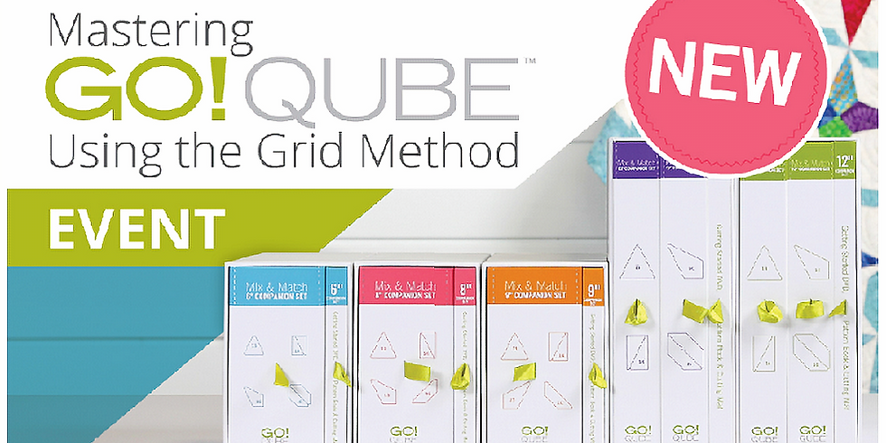 Live Webinar with AccuQuilt: Mastering Qubes using the Grid Method