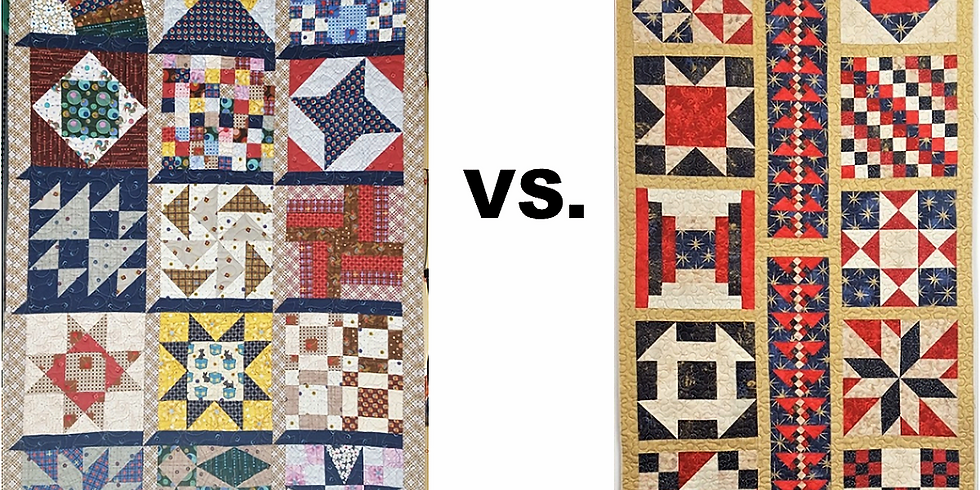 VIRTUAL Ricky Tims' Quilt: Traditional vs. Modern Quilt-Along