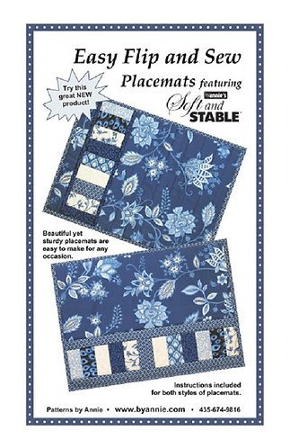 By Annie Pattern: Easy Flip and Sew Placemats