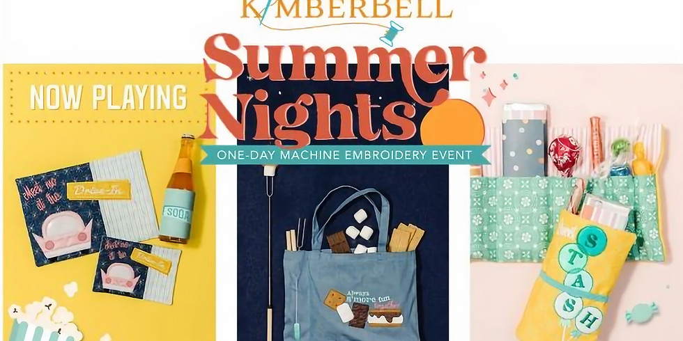 Kimberbell Summer Nights 1-Day Embroidery Workshop IN-STORE!