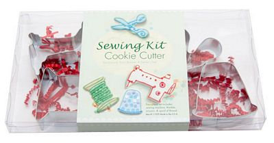 Sewing Kit Cookie Cutter Set