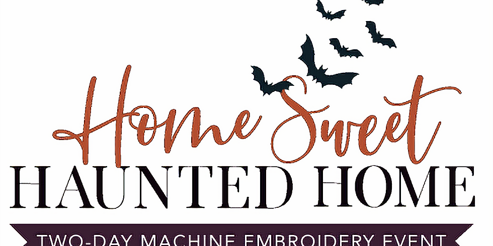 Kimberbell Home Sweet Haunted Home 2-Day Embroidery Workshop