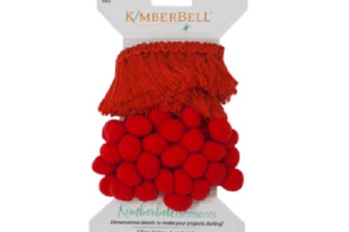 Kimberbell Tassels & Poms - Red