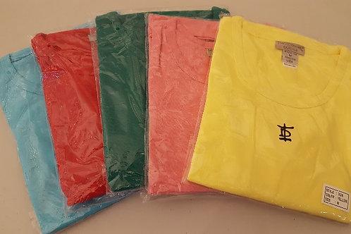 Cotton/Poly T-Shirt 3/4 Length Sleeve