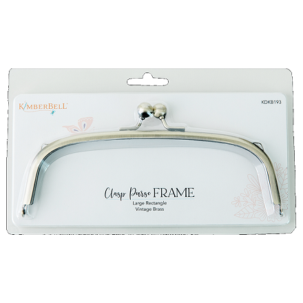 Kimberbell Clasp Purse Frame - Large Rectangle