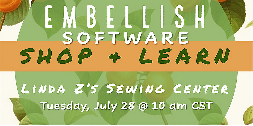 Live Webinar with Embellish Software & Cookie Gaynor