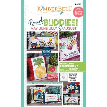 Kimberbell Bench Buddies Machine Embroidery CD (May-Jun-Jul-Aug)