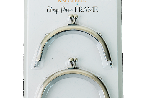 Kimberbell Clasp Purse Frame - Small Crescent (2 pk)