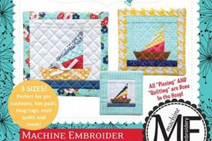Kimberbell Machine Embroider by Number: Sailboat Embroidery CD