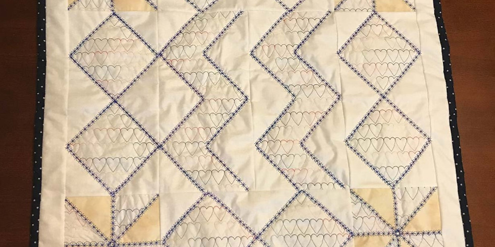 3-DAY, HANDS-ON QUILTING WORKSHOP with FLORIANI