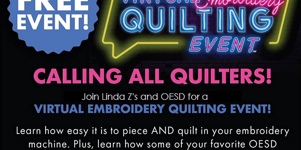 VIRTUAL OESD Quilting Event