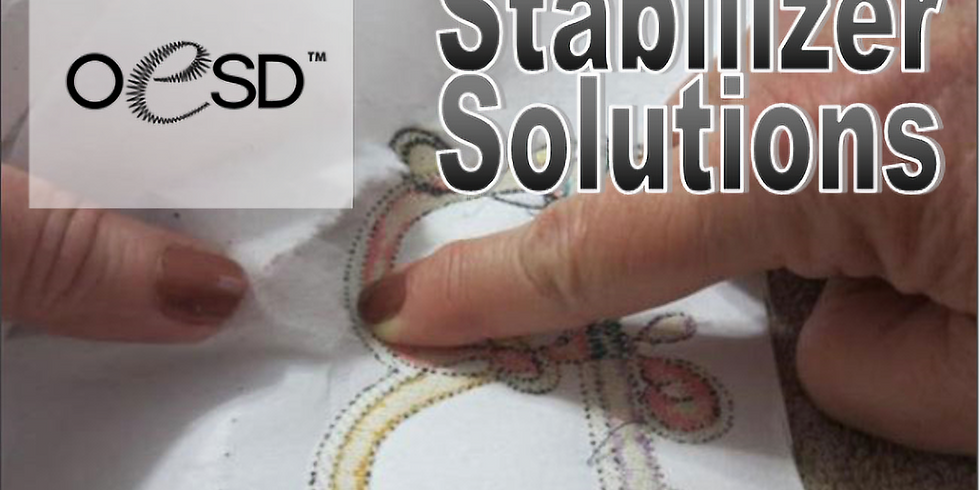 VIRTUAL OESD Stabilizer Solutions Event