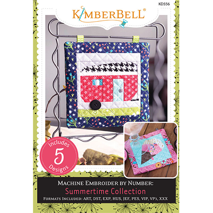 Kimberbell Machine Embroider by Number: Summertime Collection Embroidery CD