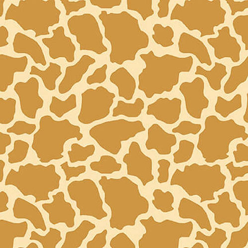 Wild and Free Giraffe Skin (Tan) from Henry Glass Fabrics