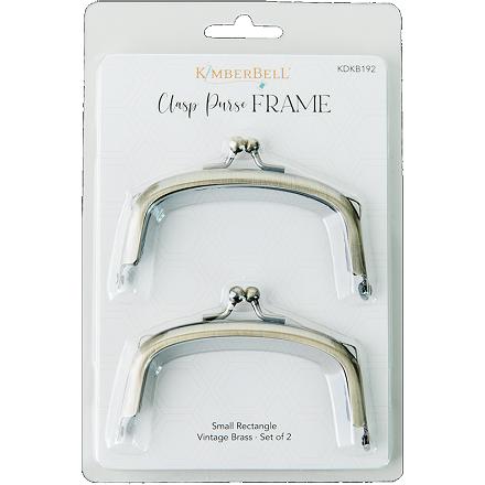 Kimberbell Clasp Purse Frame - Small Rectangle