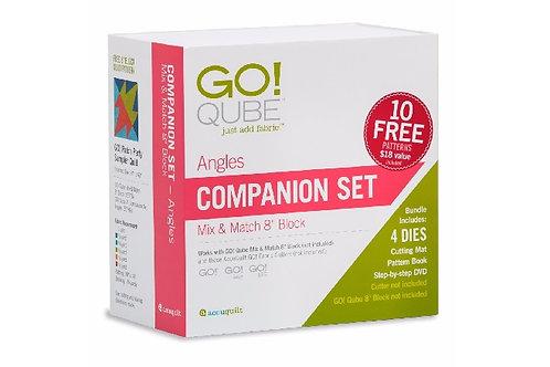 "AccuQuilt GO! Qube 8"" Companion Set - Angles"