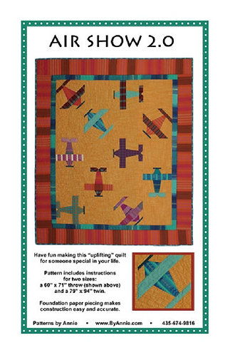 By Annie Pattern: Air Show 2.0 Quilt