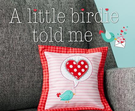 Kimberbell A Little Birdie Told Me Pillow Kit