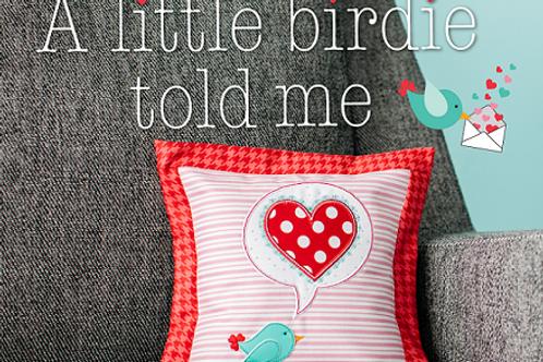Kimberbell A Little Birdie Told Me Pillow Kit
