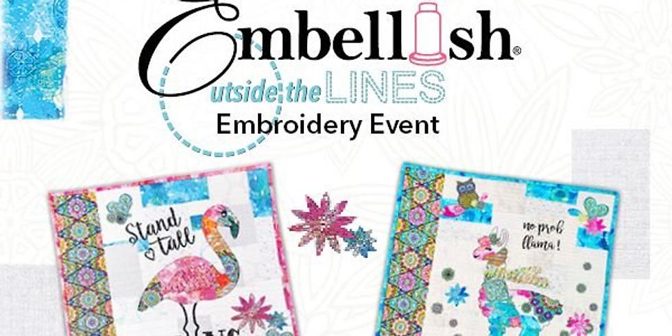 Embellish Outside the Lines Hands-On Workshop