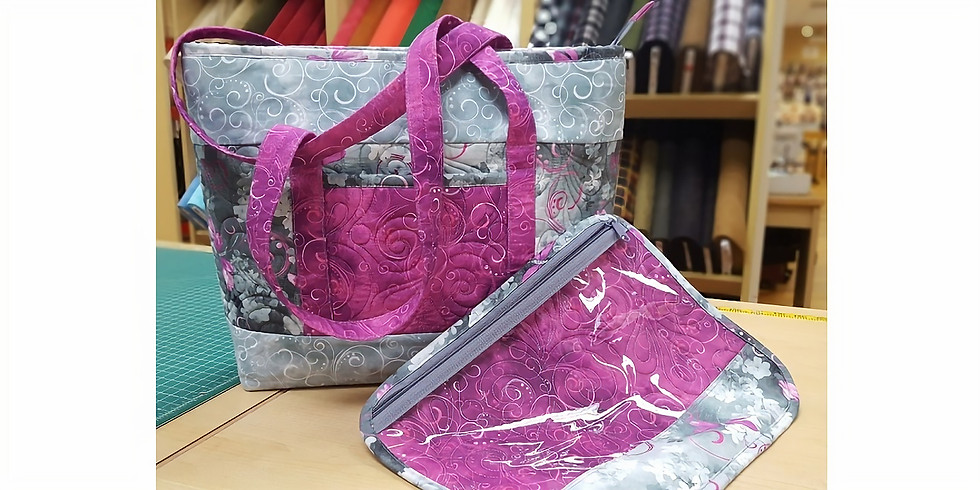 BY ANNIE BAG OF THE MONTH! Bon Voyage Tote & Project Bag