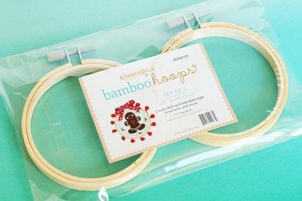 Kimberbell Bamboo Embroidery Hoops (2 pk)