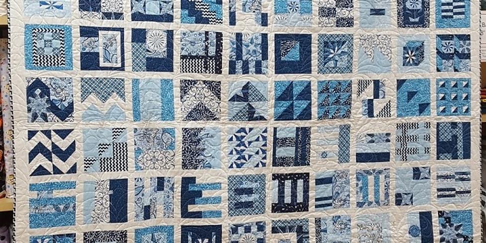 100 Modern Quilt Blocks Quilt Along - VIRTUAL