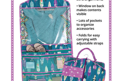 By Annie Pattern: Going Places Garment Bag