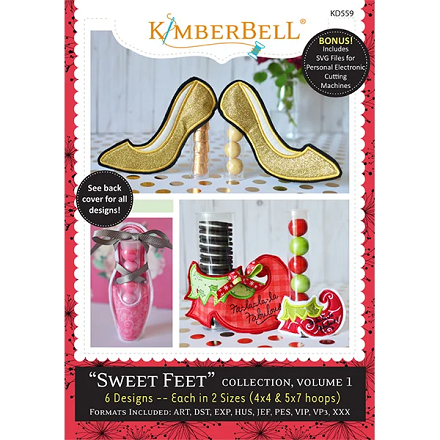 Kimberbell Sweet Feet Collection Volume 1 Embroidery CD