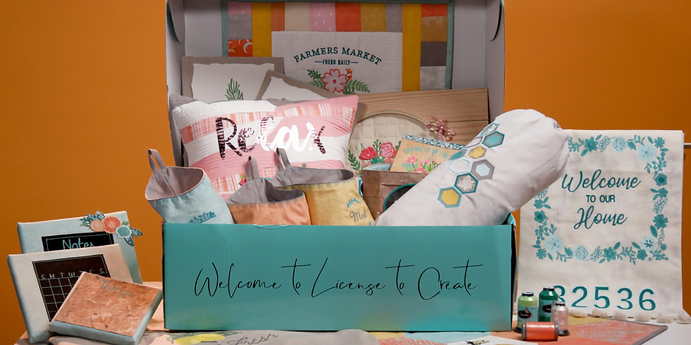 VIRTUAL License to Create - Spring Sewing, Summer Growing
