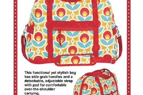 By Annie Pattern: Carry On! Travel Bag