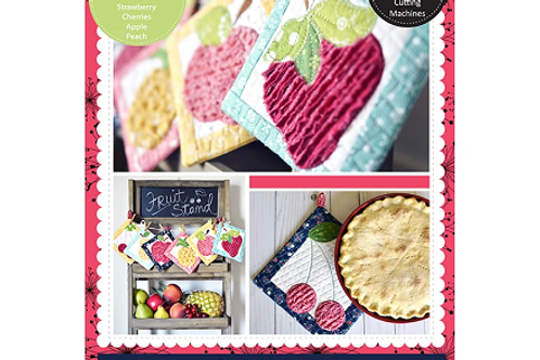 Kimberbell That's Sew Chenille: Fruit Stand Hot Pads Embroidery CD