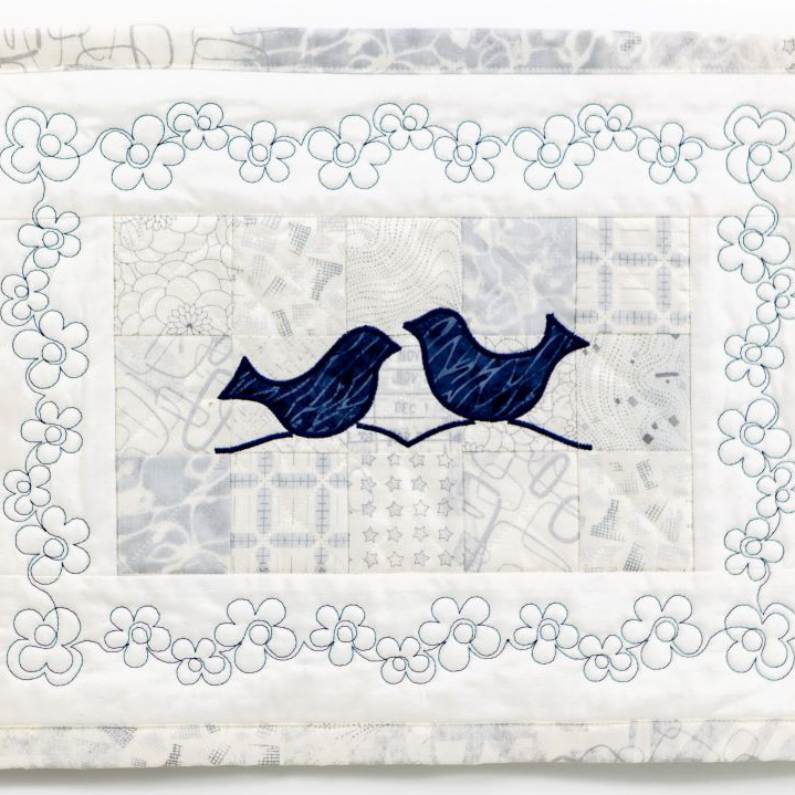 """Hands-On """"Quiltbroidery 101"""" Workshop with Jerry Granata"""