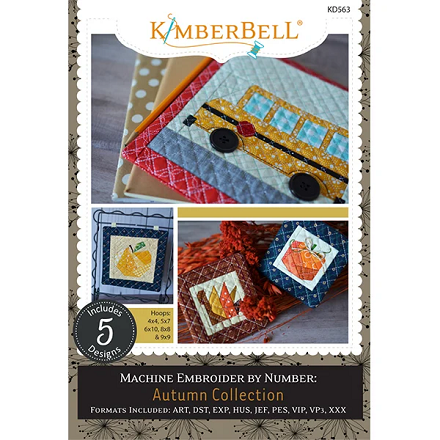 Kimberbell Machine Embroider by Number: Autumn Collection Embroidery CD