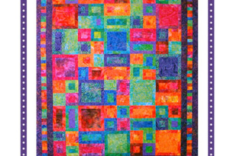 By Annie Pattern: I've Been Framed Quilt