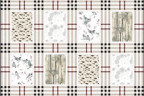 Winter Clasic/Chickadee Quilt Kit