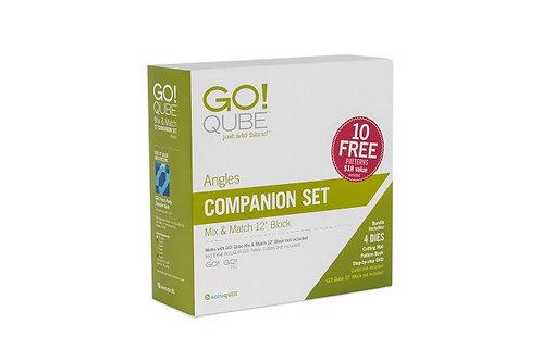 "AccuQuilt GO! Qube 12"" Companion Set - Angles"