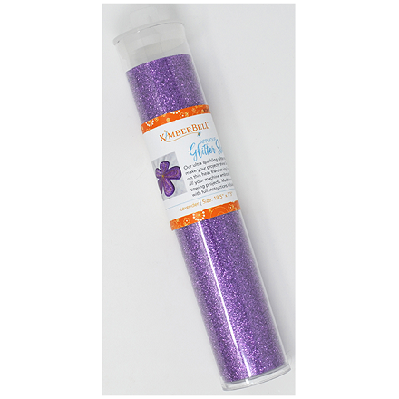 "Kimberbell Applique Glitter Sheet (19.5"" x 7.5"") - Lavender"