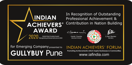 "GullyBuy Wins ""Indian Achievers' Award for Emerging Company, 2020"""