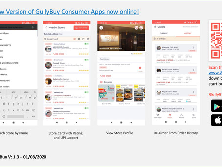 With the latest User App release GullyBuy marks first foray into ML!