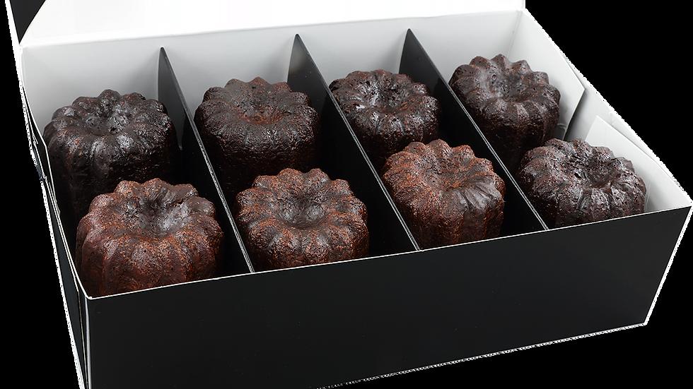 ACHETER Coffret de 8 canelés au chocolat noir