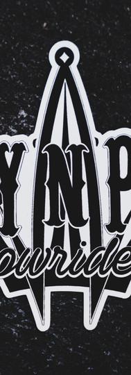 Lay N Play Logo Sticker