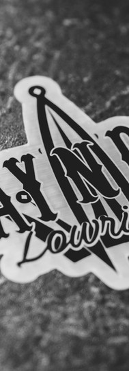 Lay N Play Aluminum Style Brushed Sticker