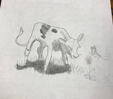 Drawing -Ferdinand