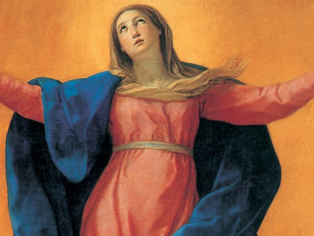 Maria foi elevada ao céu em corpo e alma