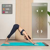 mat de yoga inteligente