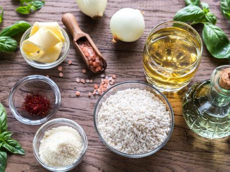 Conheça a curiosa história do risoto de açafrão