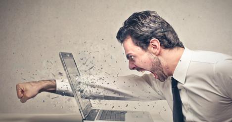 Cómo manejar el enojo en la oficina