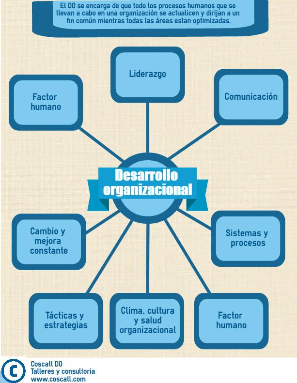 teoria desarrollo organizacional