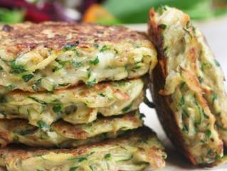Savoury Zucchini Pancakes